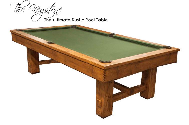 Rustic Pool Tables | Tahoe Pool Tables